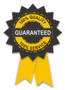 Guarantee badge Royalty Free Stock Photos