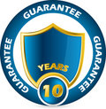 Guarantee icon design Royalty Free Stock Image