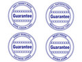 Guarantee stamp set (vector) Royalty Free Stock Photo
