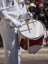 Guard change at prince x s palace of monaco a drummer the the the is the official residence the Stock Image