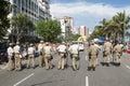 Guarda Municipal Guards Rio de Janeiro Brazil