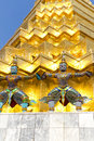 Guardians at Grand Palace and Wat Phra Kaew Stock Images