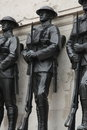 Guards Memorial, House Guards Parade, London Royalty Free Stock Photo