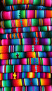 Guatemalan blanket Stock Photo
