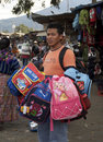 Guatemalan Vendor Stock Images