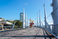 Guayaquil boardwalk on the malecon in ecuador Royalty Free Stock Photos