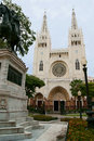 Guayaquil Historic Cathedral Royalty Free Stock Image