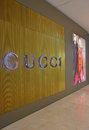 Gucci boutique in high end fashion mall