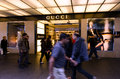 Gucci shop auckland nz may people passing by on queens street on may is the biggest selling italian brand and it operates Stock Images