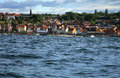 Gudhjem panorama, Denmark Stock Photography