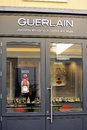 Guerlain boutique of versailles located in the passage scents Stock Photography