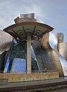 Guggenheim Bilbao Museoa atrium Royalty Free Stock Photo