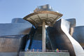 Guggenheim contemporary art museum in Bilbao Stock Images