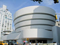 Guggenheim Museum New York City Stock Image
