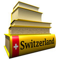 Guidebooks and dictionaries of Switzerland Royalty Free Stock Images