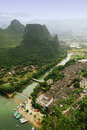 Guilin landscapes Stock Photos