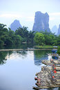 Guilin scenery beautiful landscape in Stock Photo