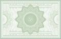 Guilloche banknote