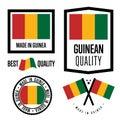 Guinea quality label set for goods