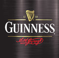 Guinness brewery beer metal design