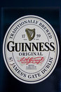 Guinness logo Stock Photography