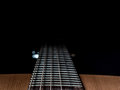 Guitar abstract background with strings Stock Photos
