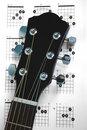 Guitar Chords Royalty Free Stock Photo