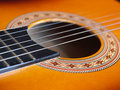 Guitar close-up Royalty Free Stock Image