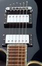 Guitar curves Stock Photo