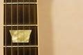 Guitar fret board Royalty Free Stock Photo