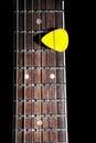 Guitar pick Royalty Free Stock Photo