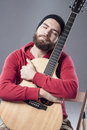 stock image of  Guitar player