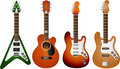 Guitar set 2 Stock Photo