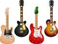 Guitar set 7 Royalty Free Stock Photo