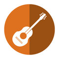 Guitar traditional acoustic music shadow
