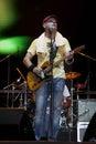 Guitarist-1 Стоковые Изображения