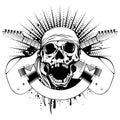 Guitars skull_var 10
