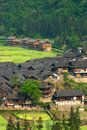 Guizhou Chinese village miu village Stock Photos