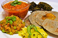 Gujarati Thali Stock Photography