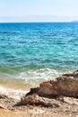 Gulf of corinth ionian sea greece summer day Stock Photography