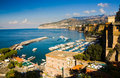 Gulf of Naples North Royalty Free Stock Photo
