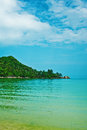 Gulf of thailand near island koh phangan in south east asia Royalty Free Stock Photography