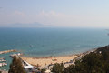 Gulf of tunis view the tunisia Royalty Free Stock Photography