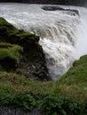 Gullfoss iceland waterfall golden falls Stock Photos