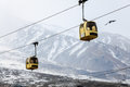 Gulmarg gondola in kashmir india Royalty Free Stock Photography