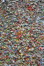 Gum Wall Stock Image