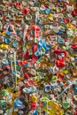 Gum wall in seattle tourists from all over the world have come to stick chewing to a near pikes place market washington Royalty Free Stock Photos