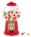 Gumball machine vector file eps Stock Photos