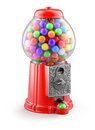 Gumball machine vintage d illustration over white background Royalty Free Stock Photo