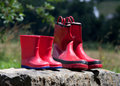 Gumboots Royalty Free Stock Images